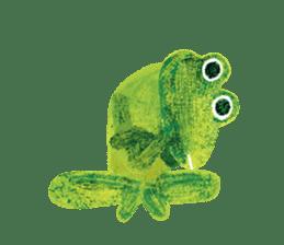 6-9 / Little Prince Frog-Finn sticker #14870275