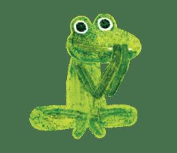 6-9 / Little Prince Frog-Finn sticker #14870276