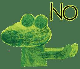 6-9 / Little Prince Frog-Finn sticker #14870279