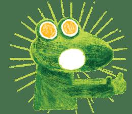 6-9 / Little Prince Frog-Finn sticker #14870281