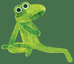 6-9 / Little Prince Frog-Finn sticker #14870285