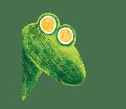 6-9 / Little Prince Frog-Finn sticker #14870292