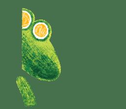 6-9 / Little Prince Frog-Finn sticker #14870293