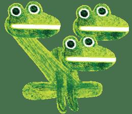 6-9 / Little Prince Frog-Finn sticker #14870297
