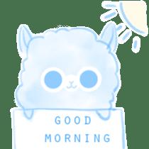 Doodle Alpaca sticker #14870487