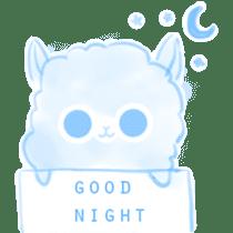 Doodle Alpaca sticker #14870488