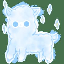 Doodle Alpaca sticker #14870491