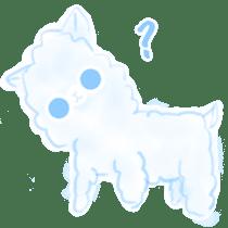 Doodle Alpaca sticker #14870492
