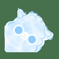 Doodle Alpaca sticker #14870493