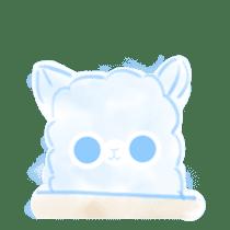 Doodle Alpaca sticker #14870496