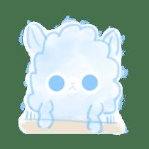 Doodle Alpaca sticker #14870497