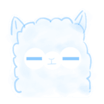 Doodle Alpaca sticker #14870500