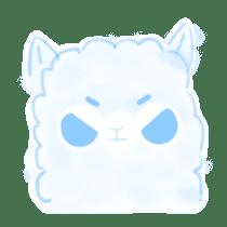 Doodle Alpaca sticker #14870501