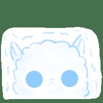 Doodle Alpaca sticker #14870504