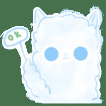 Doodle Alpaca sticker #14870506