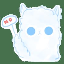 Doodle Alpaca sticker #14870507