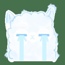 Doodle Alpaca sticker #14870508
