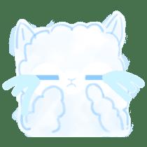 Doodle Alpaca sticker #14870509