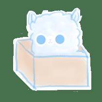 Doodle Alpaca sticker #14870510
