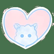Doodle Alpaca sticker #14870512
