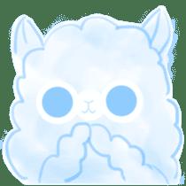 Doodle Alpaca sticker #14870514