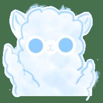 Doodle Alpaca sticker #14870515