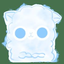 Doodle Alpaca sticker #14870516