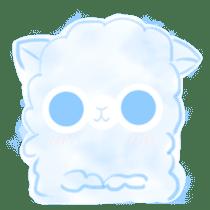 Doodle Alpaca sticker #14870517
