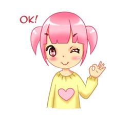 Daily Pink Candy sticker #14884351