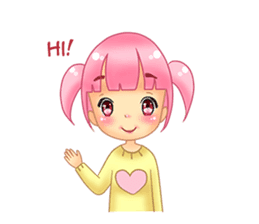 Daily Pink Candy sticker #14884359