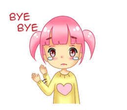 Daily Pink Candy sticker #14884361