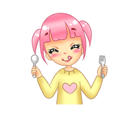 Daily Pink Candy sticker #14884362