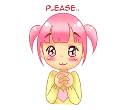 Daily Pink Candy sticker #14884365
