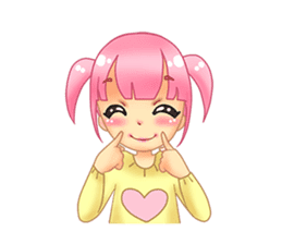 Daily Pink Candy sticker #14884366