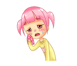 Daily Pink Candy sticker #14884369