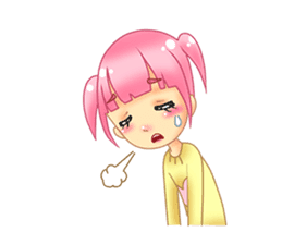 Daily Pink Candy sticker #14884370