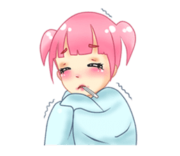 Daily Pink Candy sticker #14884374