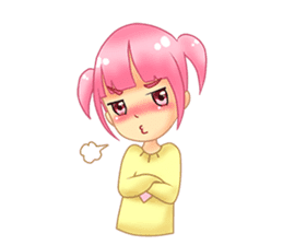 Daily Pink Candy sticker #14884375