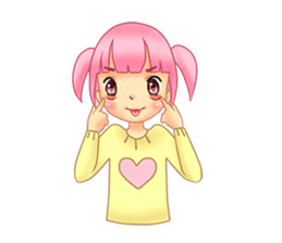 Daily Pink Candy sticker #14884376