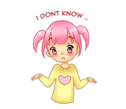 Daily Pink Candy sticker #14884385