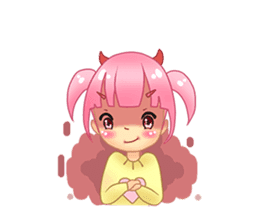 Daily Pink Candy sticker #14884387