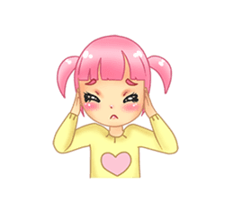 Daily Pink Candy sticker #14884388