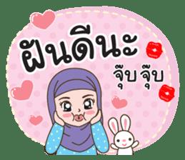 Hijab girl Greetings sticker #14895961