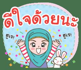 Hijab girl Greetings sticker #14895972