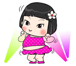 Khing Khing so cute (Eng) sticker #14897297