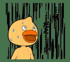 Moving cute Duck 2 sticker #14897695