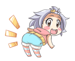 Lily and Marigold Full Animated Angelia sticker #14900096