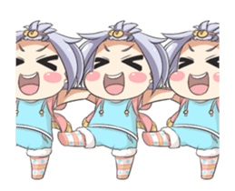 Lily and Marigold Full Animated Angelia sticker #14900097