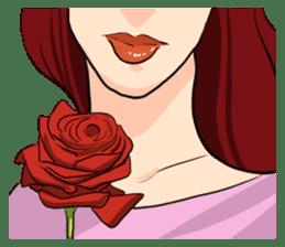 The Romantic Couple sticker #14905430