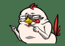 Super Dramatic Chicken (Animated) sticker #14917255